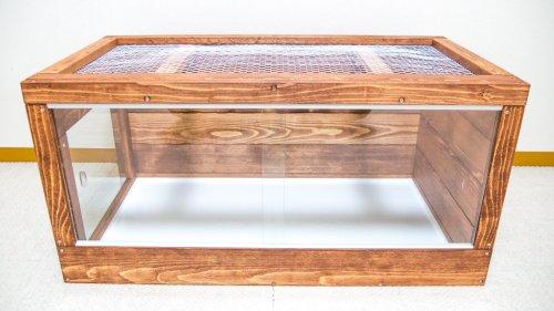 ハイブリッド木製ケージ